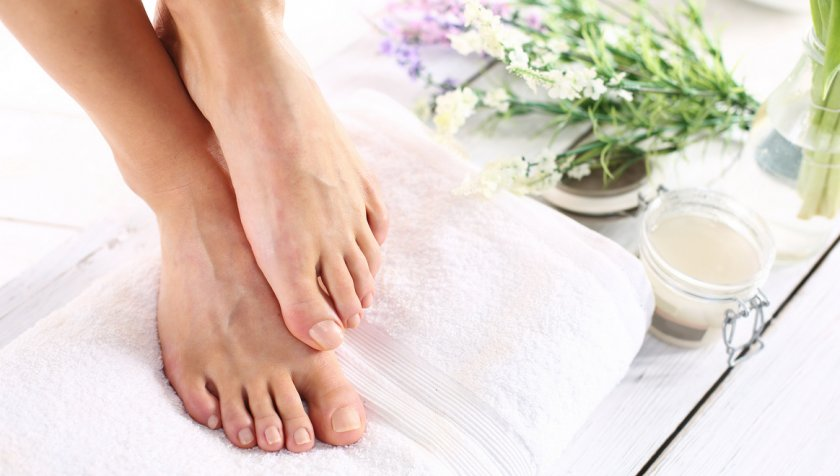 Облепиховое масло для ног