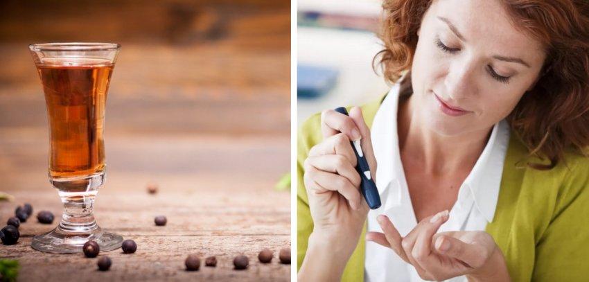Настой из ягод можжевельника при диабете