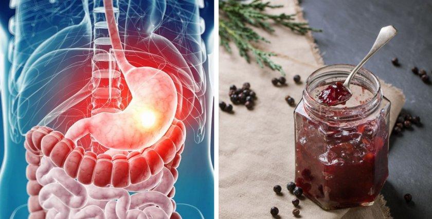 Лечение заболеваний ЖКТ вареньем из ягод можжевельника