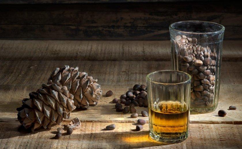 Кедровые орешки на водке польза и вред