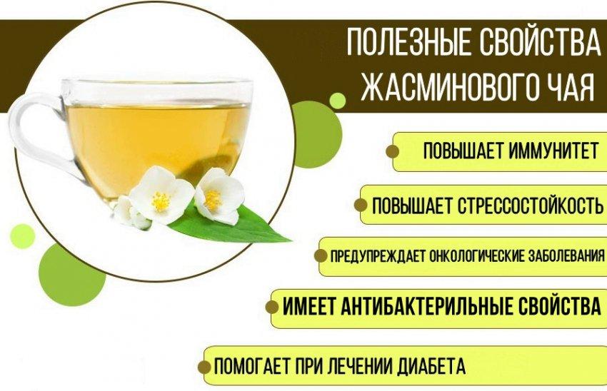 Польза жасминового чая