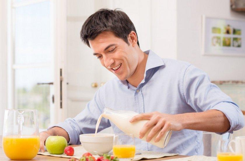 Употребление гречки с молоком