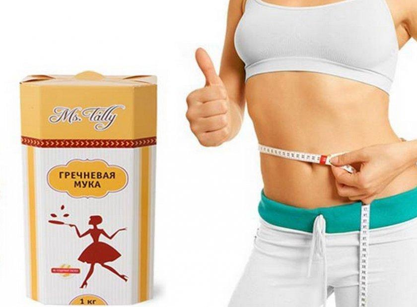 Гречневая мука при похудении