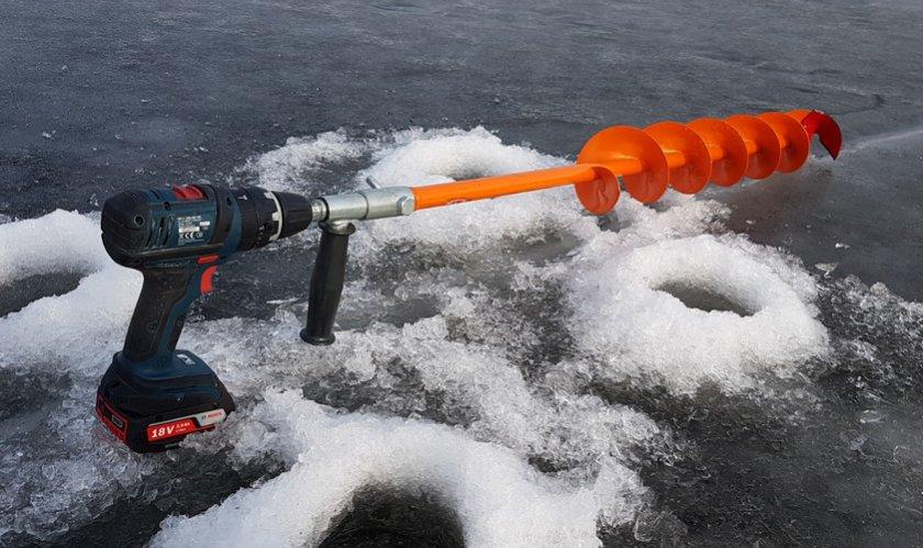 Автоматический шуроповёрт для льда