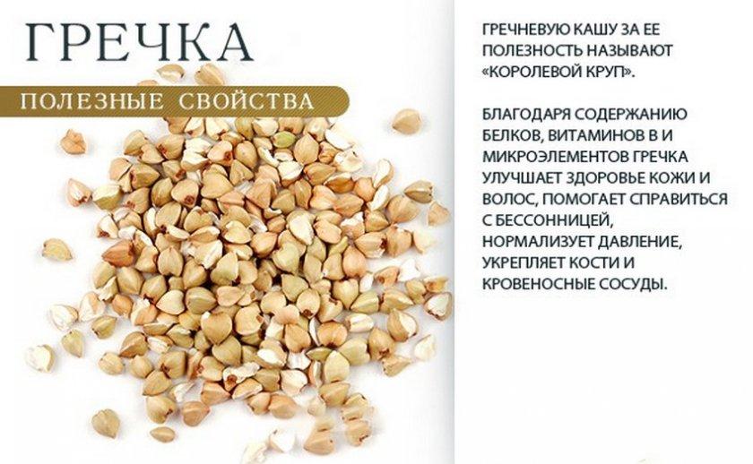 Полезные свойства гречки
