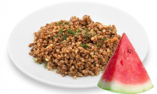 Гречневая и арбузная диета