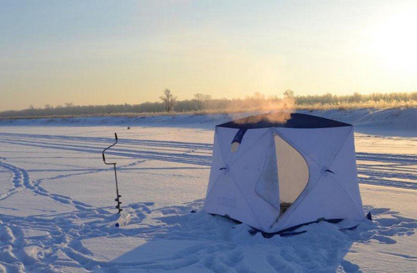 Отопление палатки