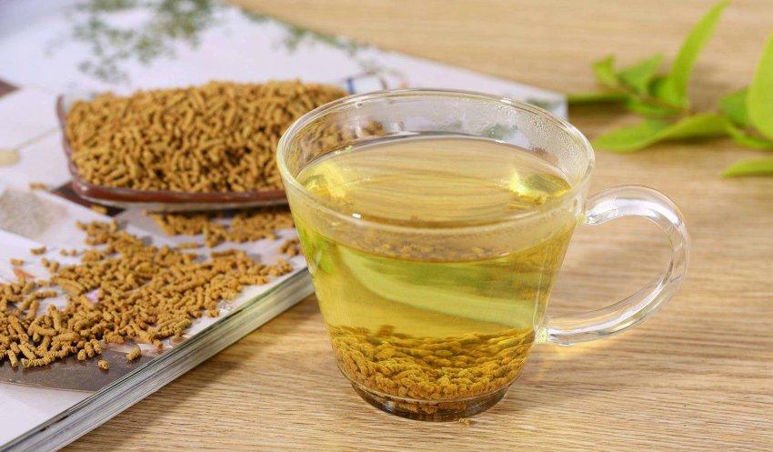 гречишный чай связь управление