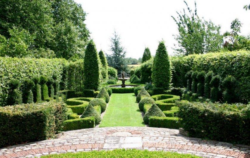 Классический садовый дизайн