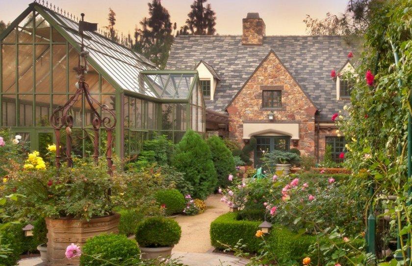 Английский садовый дизайн