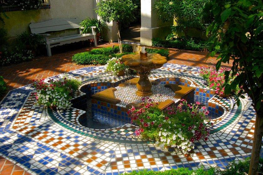 Мусульманский садовый дизайн