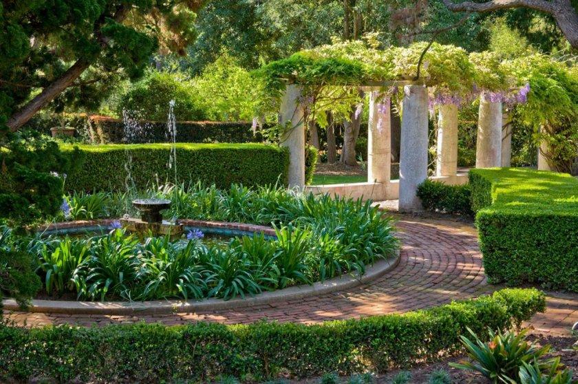 Средиземноморский садовый дизайн