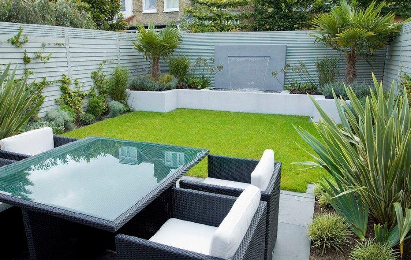 Садовый дизайн хай-тек