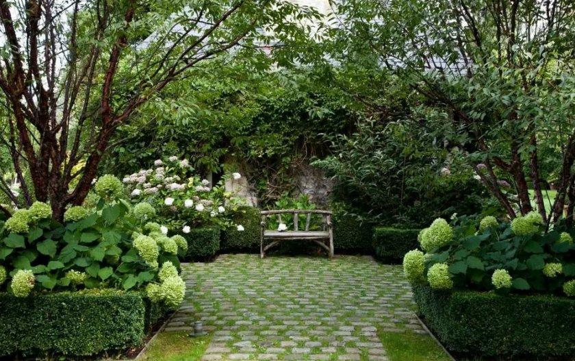 Простота в садовом дизайне