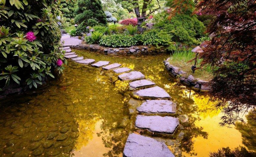 Дорожка в китайском саду