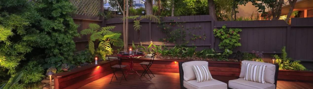 Ландшафтный дизайн для зоны отдыха