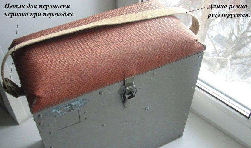 Крышка рыболовного ящика