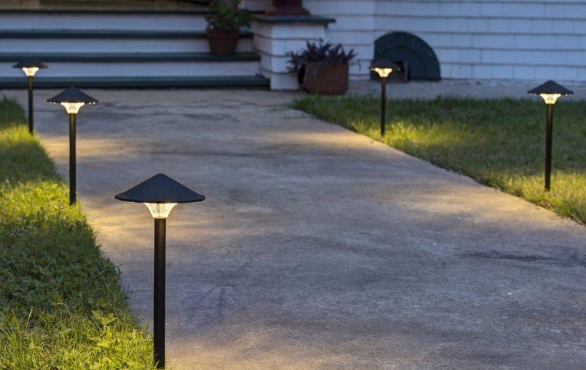 Светильники в ландшафтном дизайне