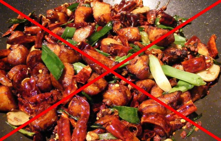Запрещенные продукты при гречневой диете