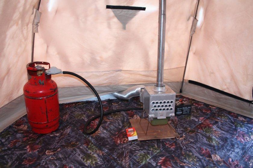 Газовая печка для палатки