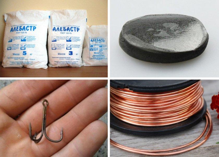 Необходимые материалы для создания приманки