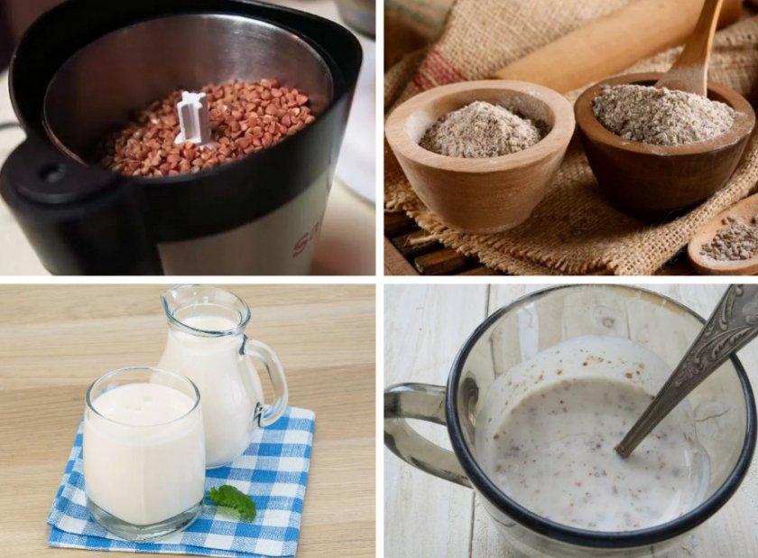 Рецепт гречки с кефиром