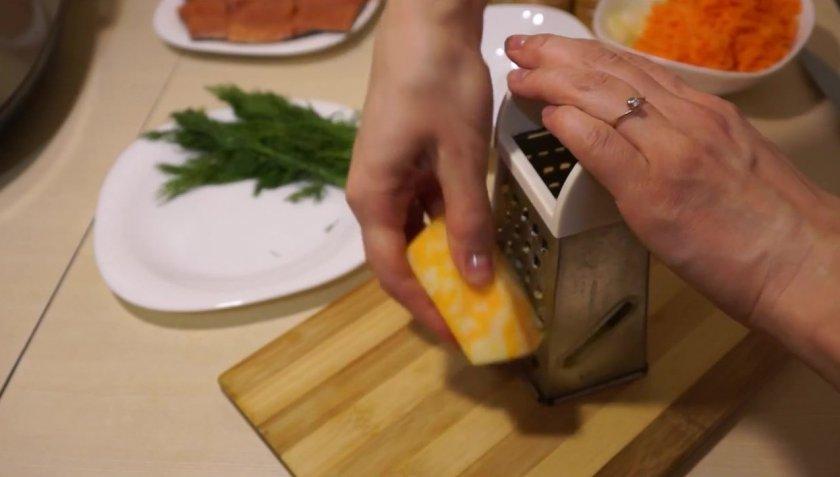 Горбуша в молоке в мультиварке
