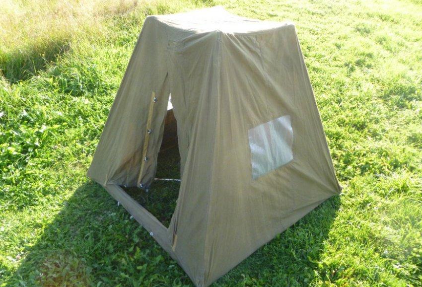 Самодельная палатка