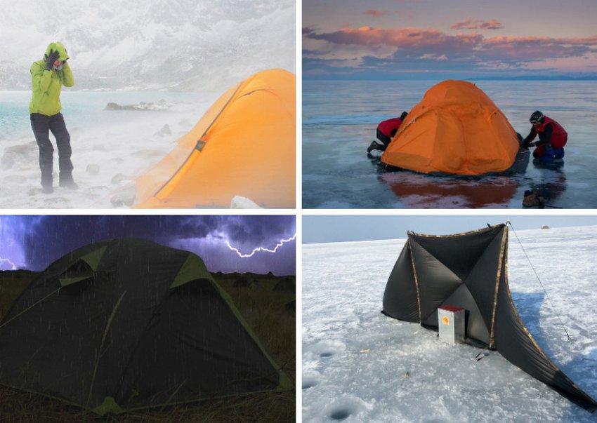 Характеристика палатки