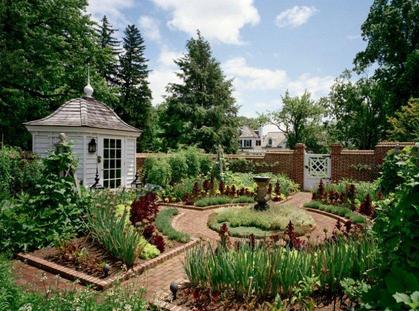 Роскошный сад