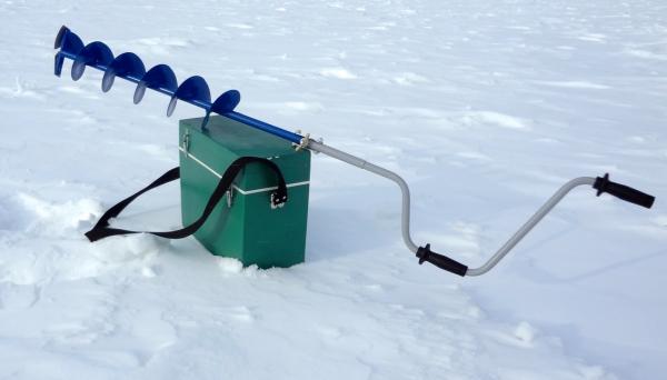 Ледоруб для зимней рыбалки: популярные модели рыболовных буров, типы ножей для коловоротов