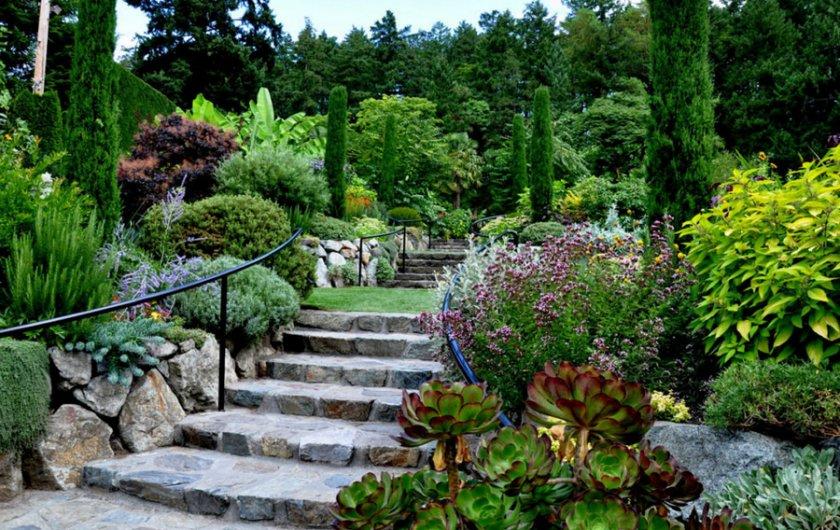 Средиземноморские сады в ландшафтном дизайне