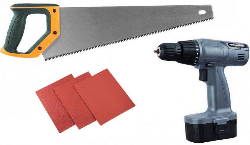 Инструменты для постройки колодца