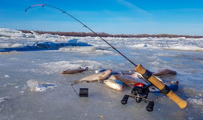 Зимней ловля на стоячей воде