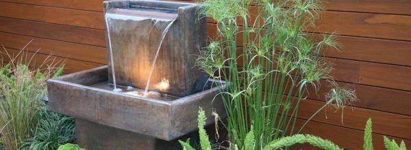 Схема простейшего фонтана