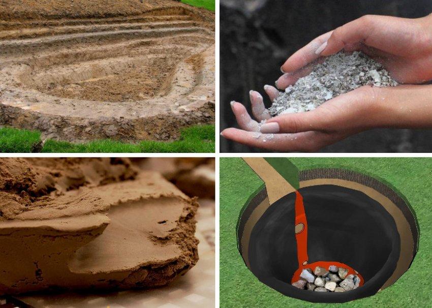 Изоляция из глины