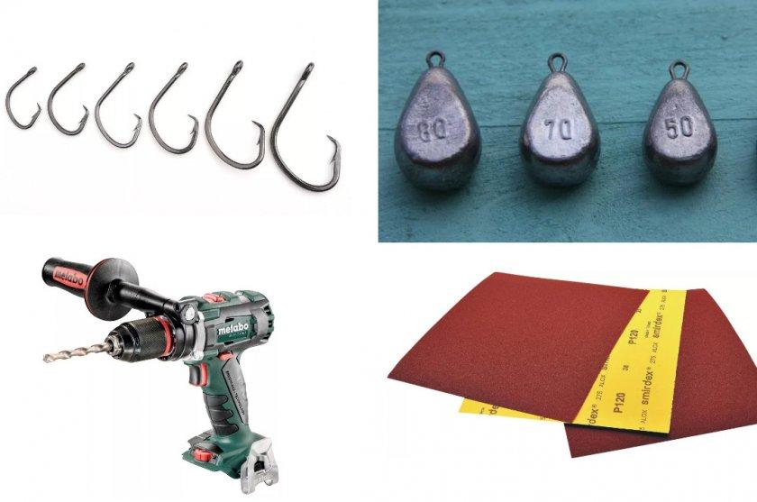 Материалы для изготовления конструкции