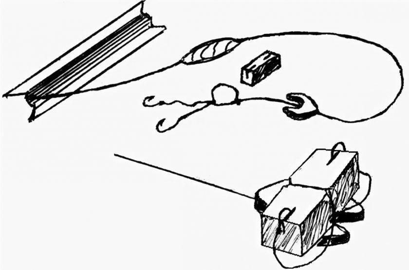 Закидушка для ловли сазана и карпа