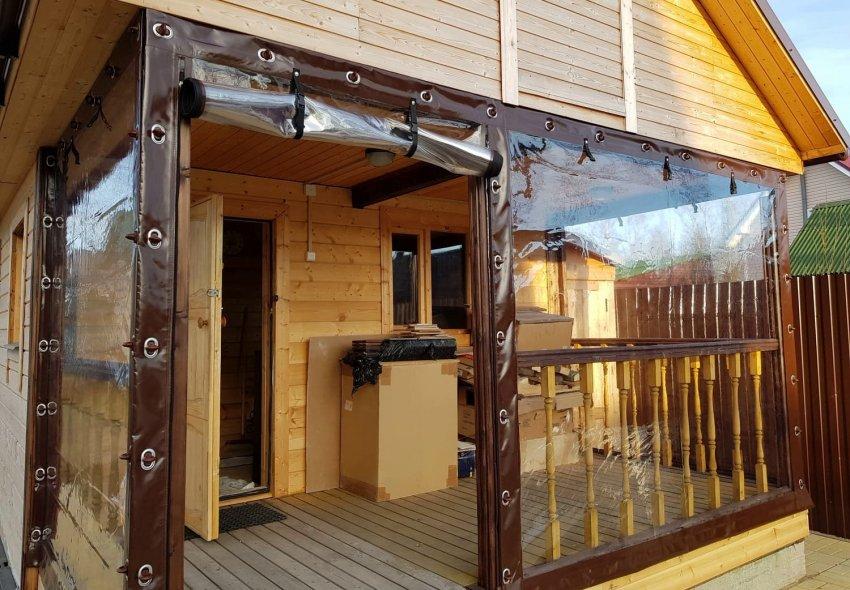 ПВХ-шторы для террасы