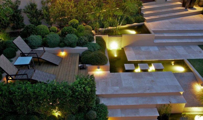 Особенности освещения в ландшафтном дизайне