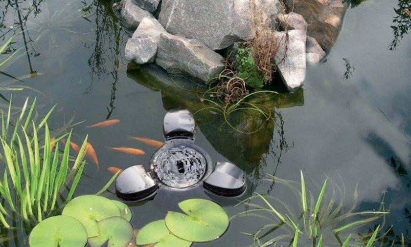 Скиммер для очистки пруда