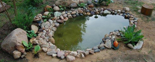 Как сделать пруд без плёнки на участке