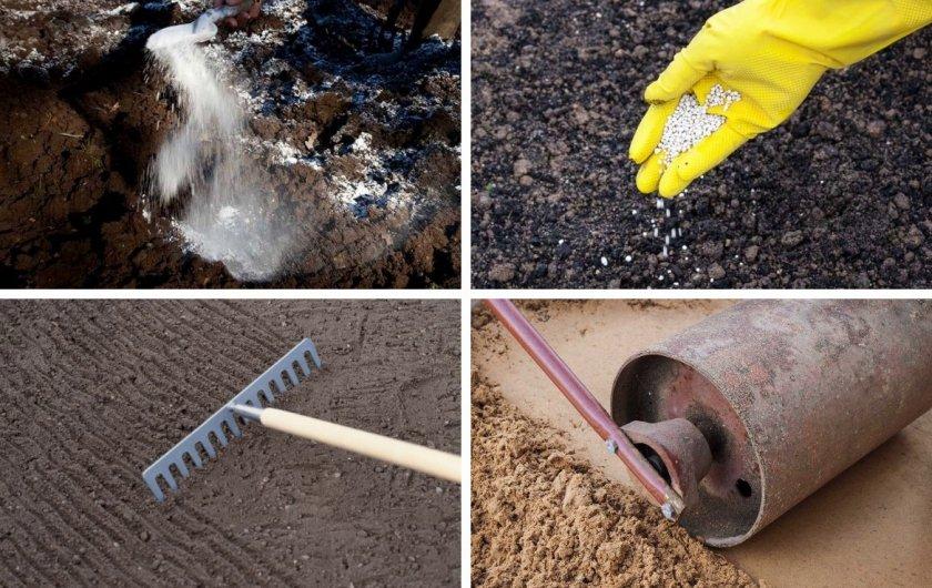 Подготовка почвы перед посевом травы