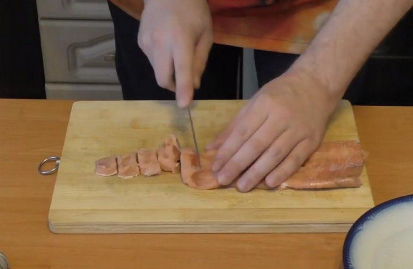 Сметанный соус для горбуши в духовке