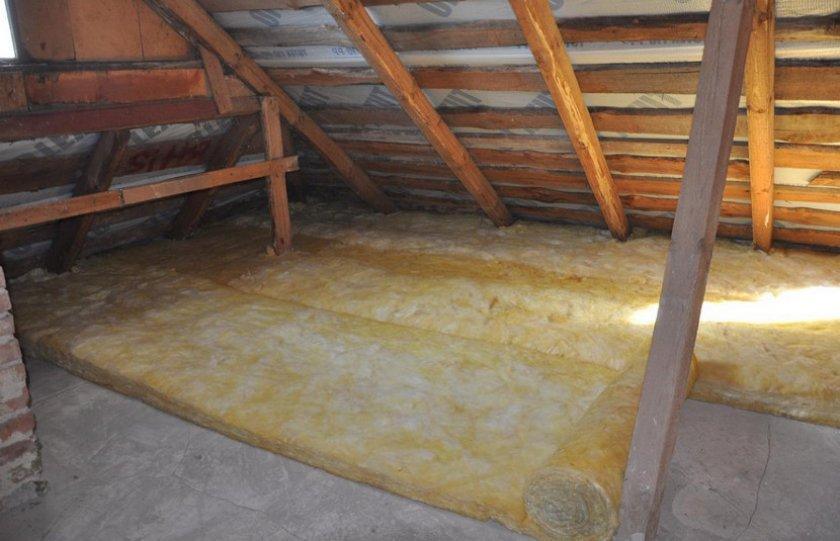 Гидроизоляция по полу чердачного помещения