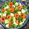 Салат с горбушей - изысканность и праздничность на вашем столе: рецепт с фото и видео
