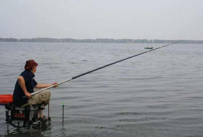 Рыбалка на штекер на удочку