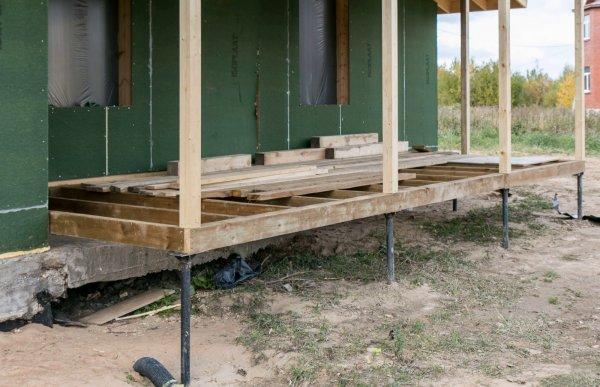 Как построить веранду из дерева – поэтапное строительство