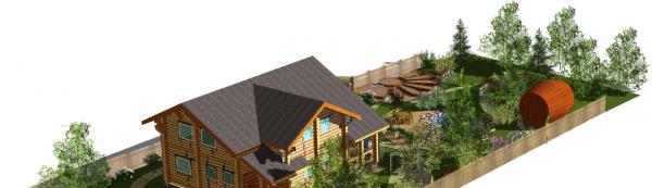 Ландшафтный дизайн небольшого участка способы расширения пространства