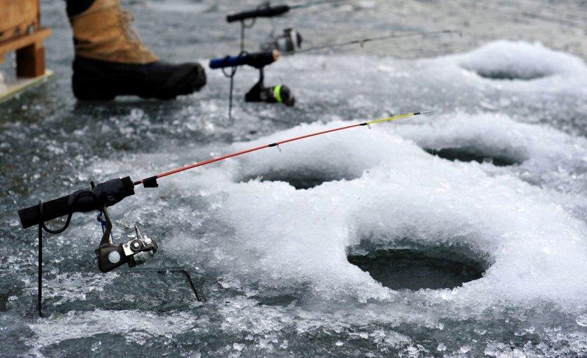 Зимняя рыбалка на крася